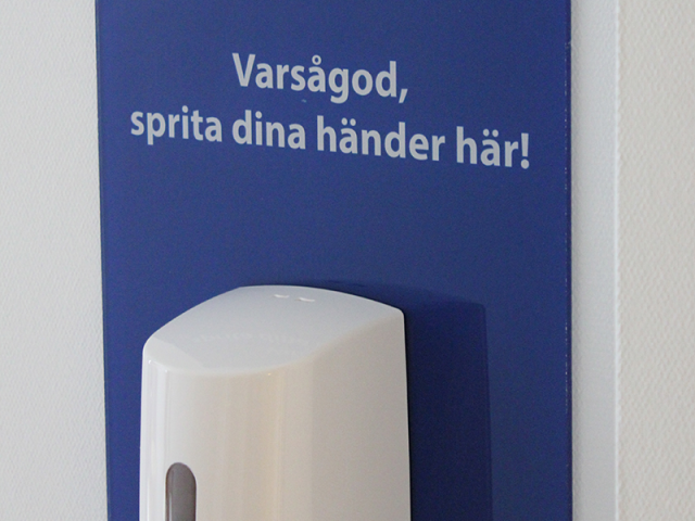 Design for better hand hygiene